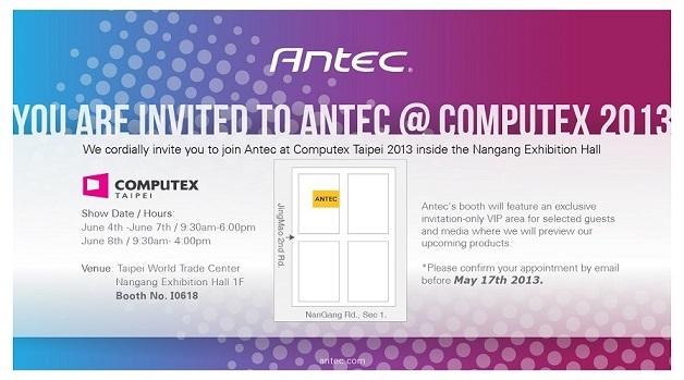 Antec Computex Invitation 2013