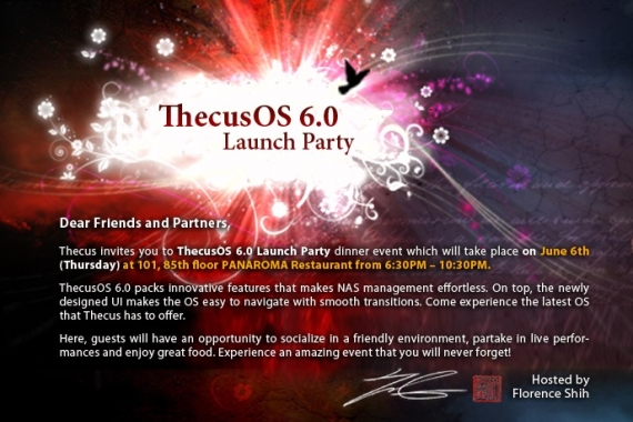 ThecusOS 6.0 Launch Party