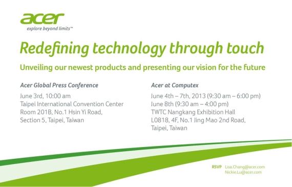 Acer Invitation