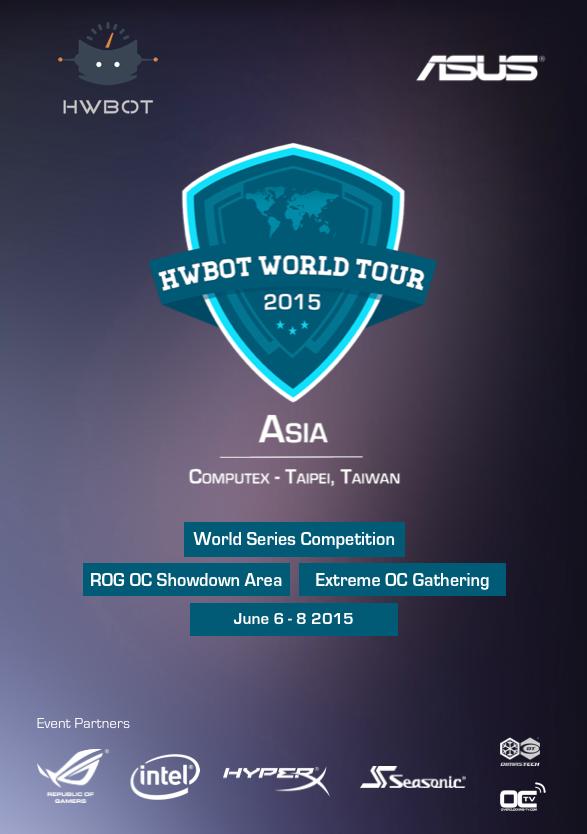 HWBOT Tour 2015: Asia Computex
