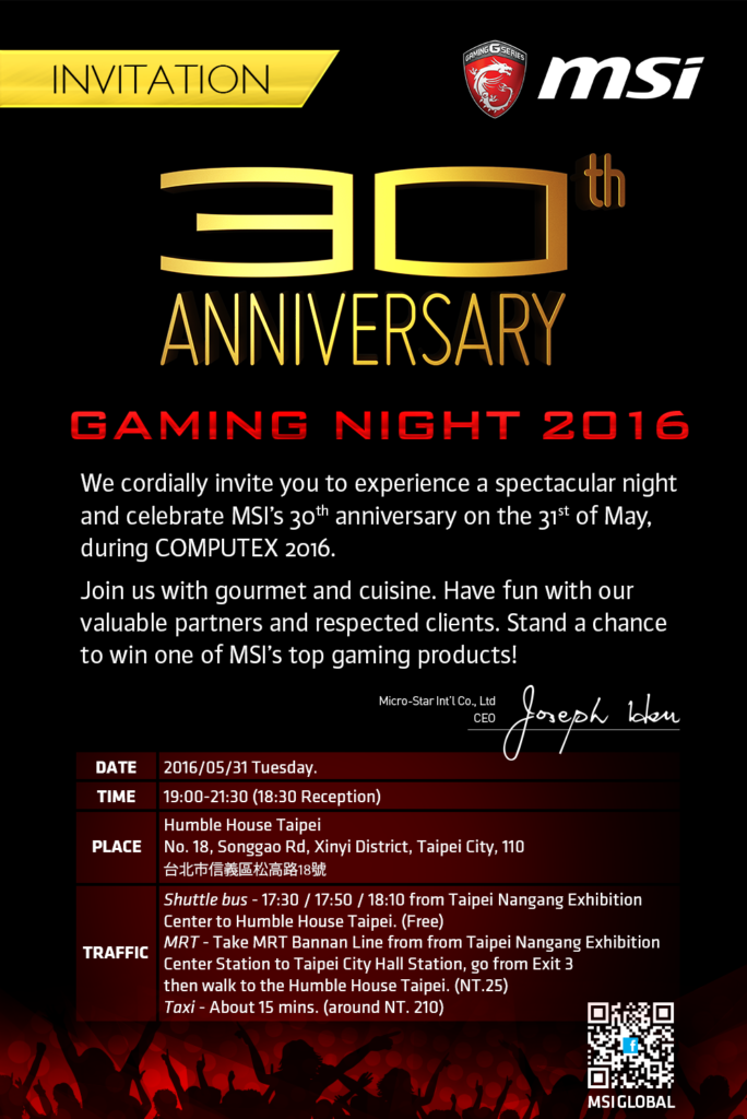 MSI gaming night