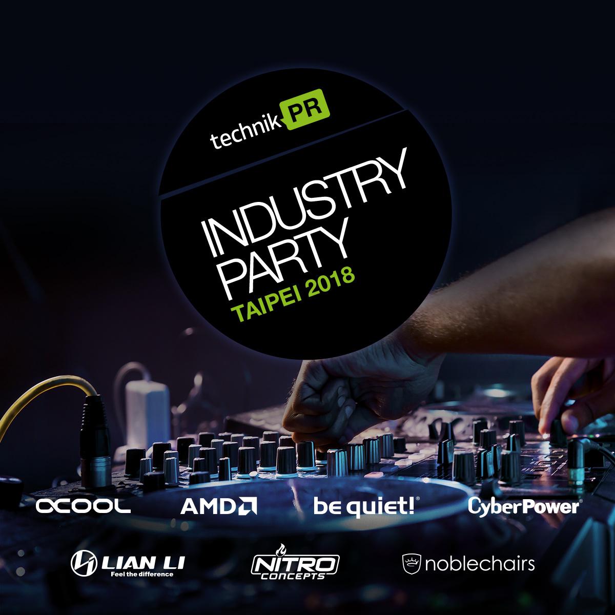TechnikPR Industry Party 2018