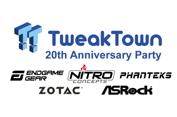 TweakTown Computex 2019 Party (20th Anniversary!)